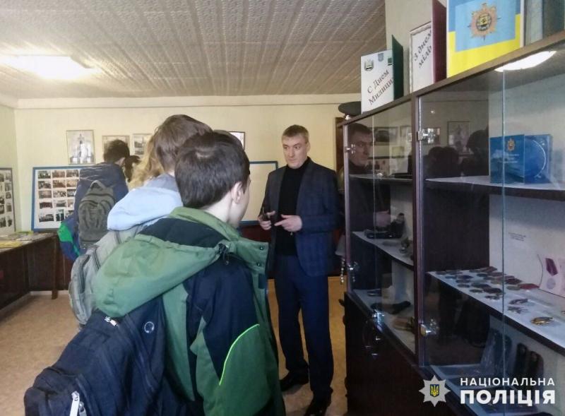 Добропільським школярам показали як працює поліція, фото-14