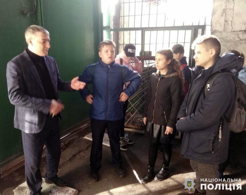 Добропільським школярам показали як працює поліція, фото-3