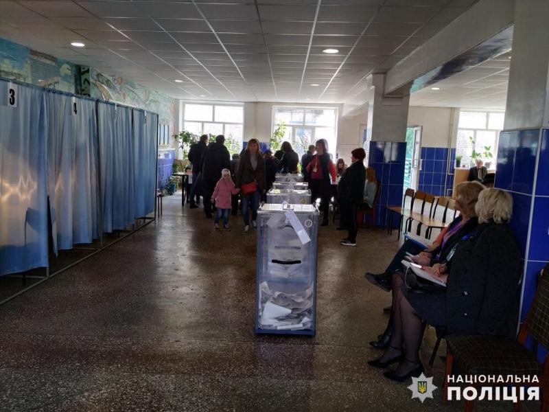Станом на 13:00 годину поліцейські Покровської оперативної зони зареєстрували 7 повідомлень про порушення виборчого процесу, фото-2