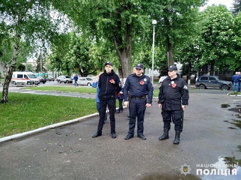 Пам'ятні заходи 9 травня на Донеччині пройшли без грубих порушень громадського порядку, фото-6