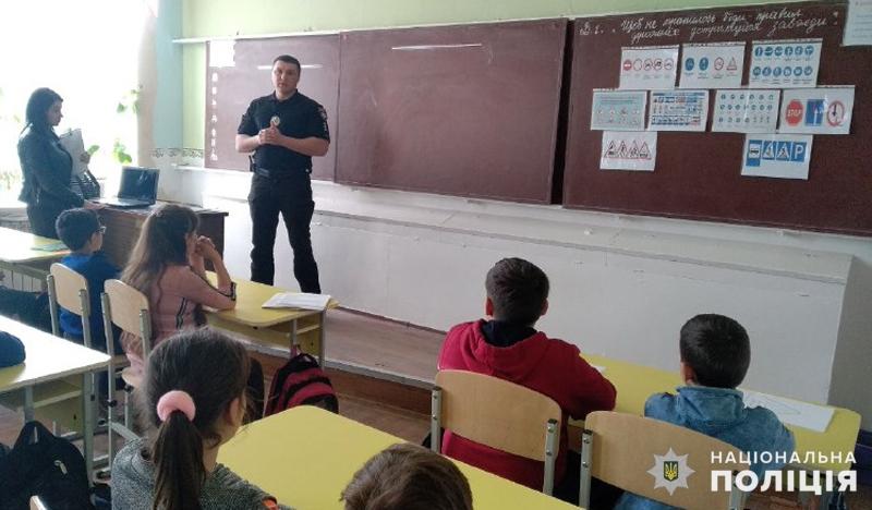 Покровських школярів правилам дорожнього руху навчають співробітники поліції, фото-2