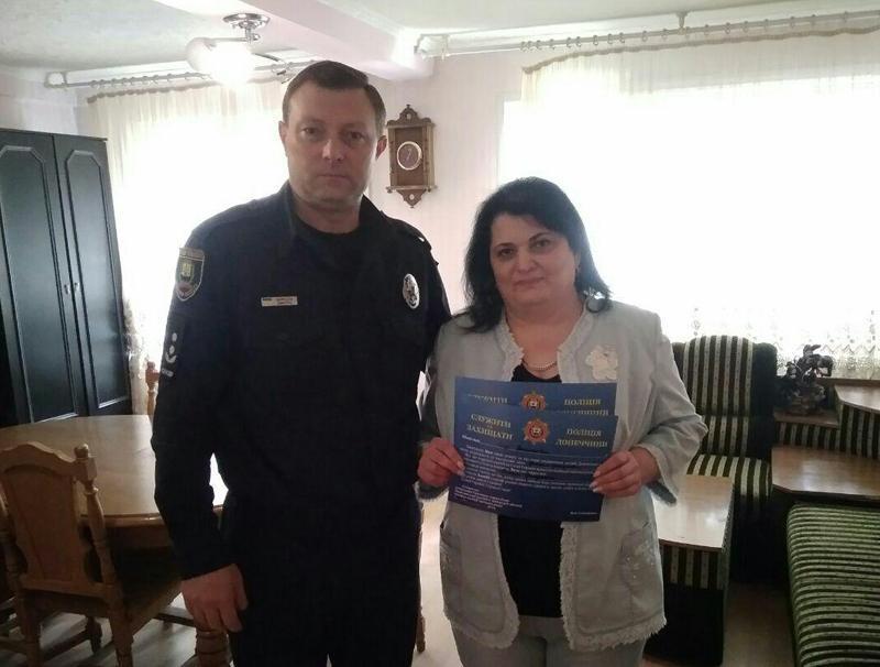 Керівництво Покровського відділу поліції привітало матерів своїх колег зі святом, фото-18