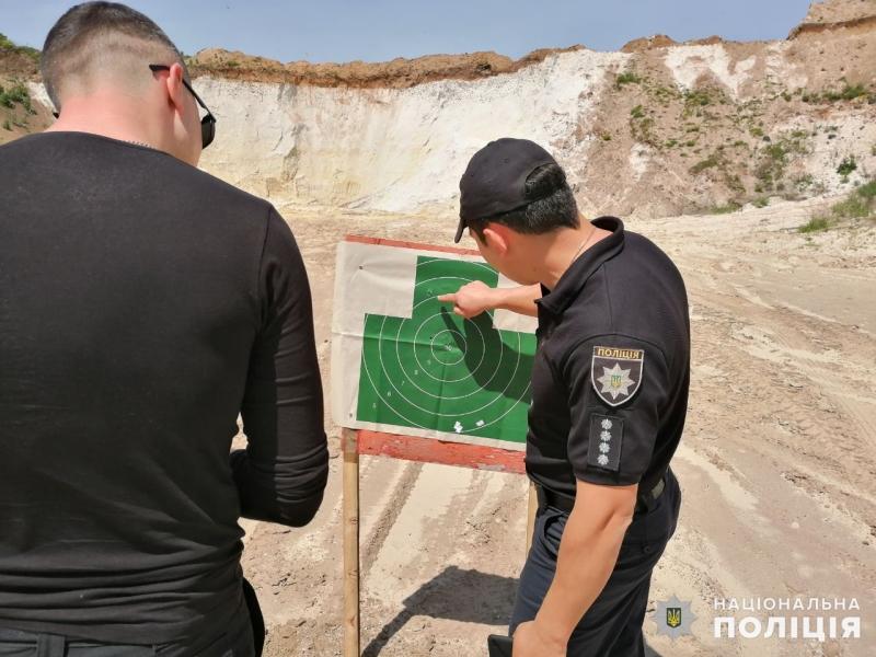 Співробітники главку перевірили рівень службової підготовки співробітників Покровського відділу поліції, фото-8