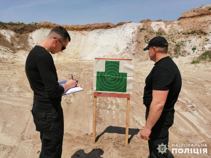 Співробітники главку перевірили рівень службової підготовки співробітників Покровського відділу поліції, фото-7
