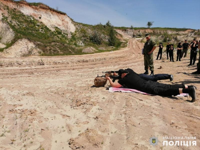 Співробітники главку перевірили рівень службової підготовки співробітників Покровського відділу поліції, фото-6