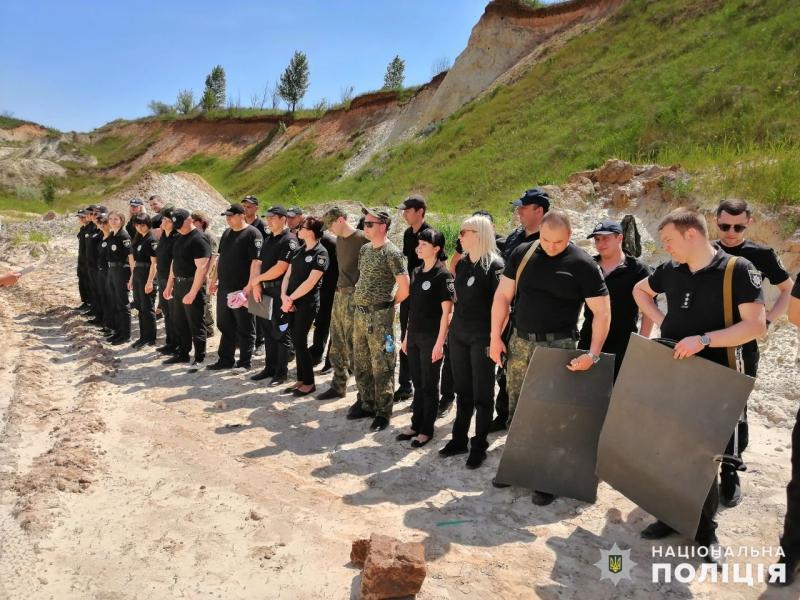 Співробітники главку перевірили рівень службової підготовки співробітників Покровського відділу поліції, фото-4