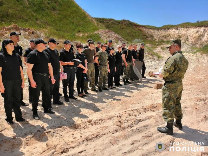 Співробітники главку перевірили рівень службової підготовки співробітників Покровського відділу поліції, фото-3