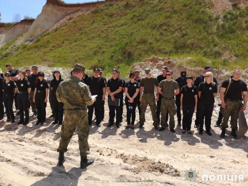 Співробітники главку перевірили рівень службової підготовки співробітників Покровського відділу поліції, фото-2