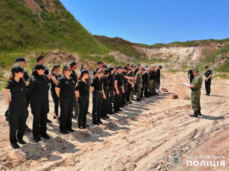 Співробітники главку перевірили рівень службової підготовки співробітників Покровського відділу поліції, фото-1
