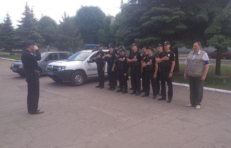 У Покровській оперативній зоні пройшов традиційний публічний інструктаж поліцейських, фото-4