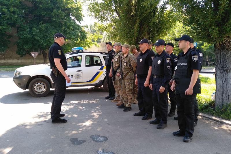 У Покровській оперативній зоні пройшов традиційний публічний інструктаж поліцейських, фото-2
