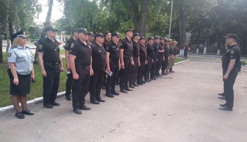 У Покровській оперативній зоні пройшов традиційний публічний інструктаж поліцейських, фото-1
