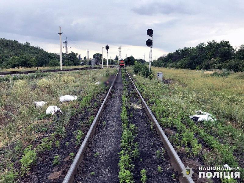 У Добропіллі потягом смертельно травмовано чоловіка, фото-1