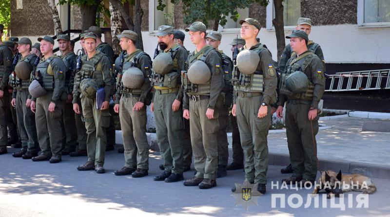 На Донеччині до охорони громадського порядку долучилися патрулі Національної гвардії, фото-1