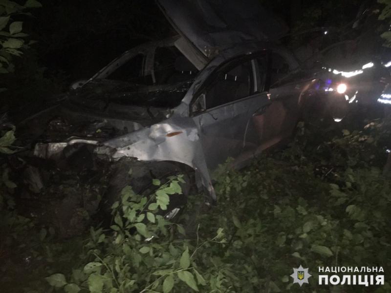 Пятеро жителей Доброполья попали в страшное ДТП: водитель автомобиля умер в больнице, фото-1
