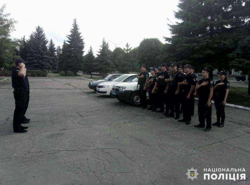 Правоохоронці Добропілля заступили на патрулювання міста, фото-3