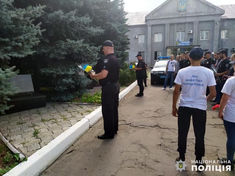 Правоохоронці Покровської оперативної зони вшанували пам'ять загиблих колег, фото-6