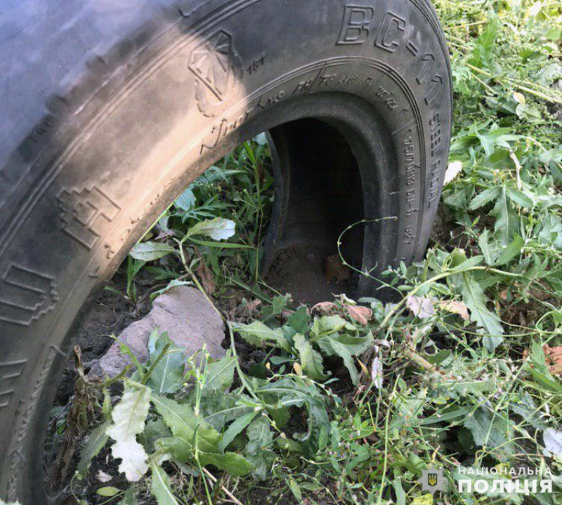 У Покровську поліцейські знайшли наркотики в автомобільній шині , фото-1