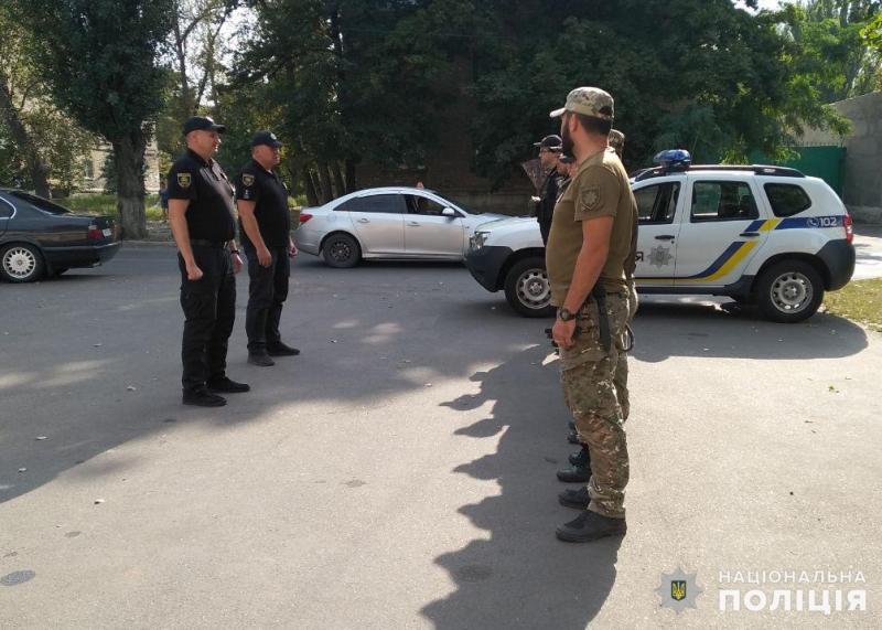 Сили поліції, які дбатимуть про безпеку мешканців на вихідних, приступили до несення служби, фото-3