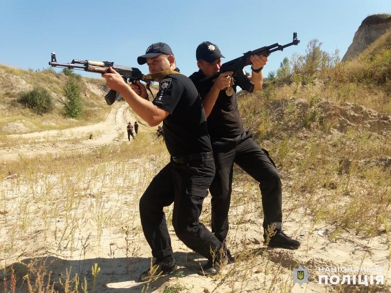 Покровские полицейские повышают уровень своего профессионального мастерства, фото-11
