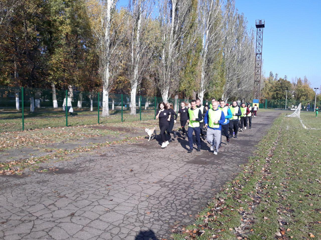 Правоохоронці Покровської оперативної зони взяли участь у марафоні до Дня захисника України, фото-10