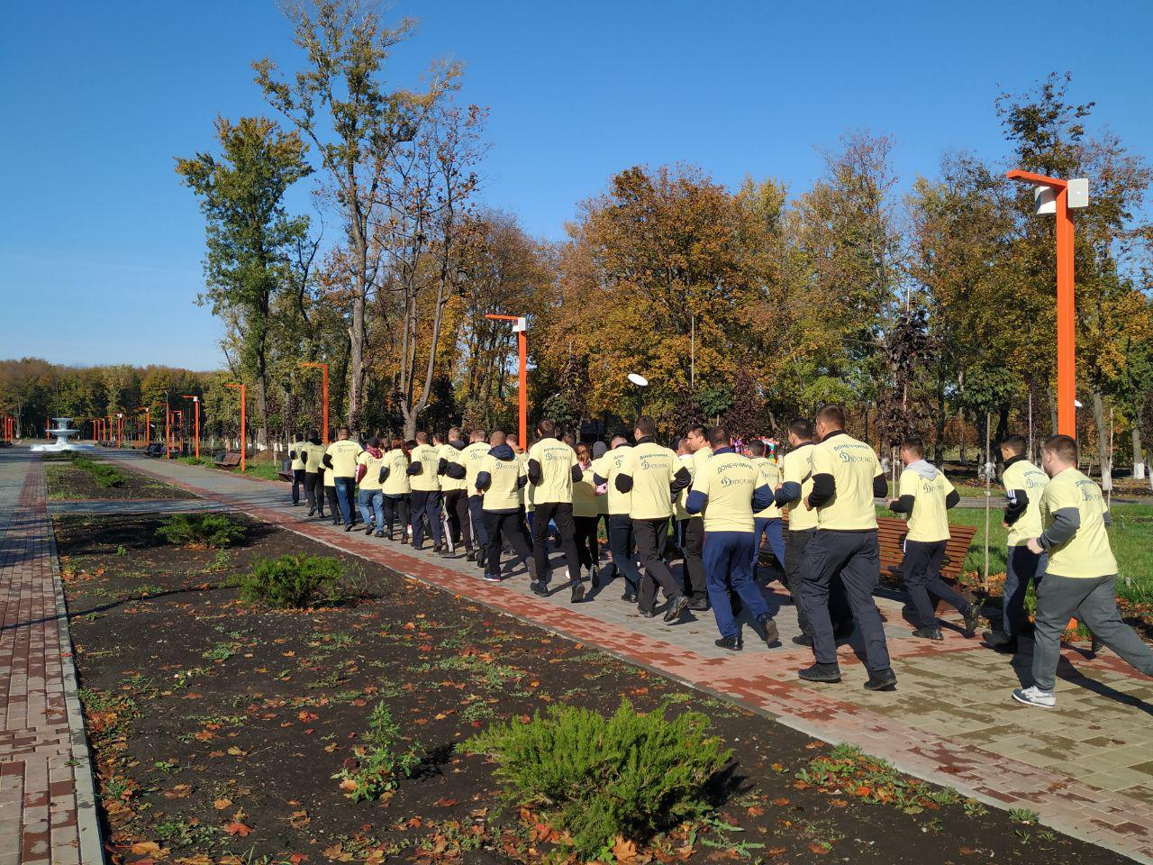 Правоохоронці Покровської оперативної зони взяли участь у марафоні до Дня захисника України, фото-4