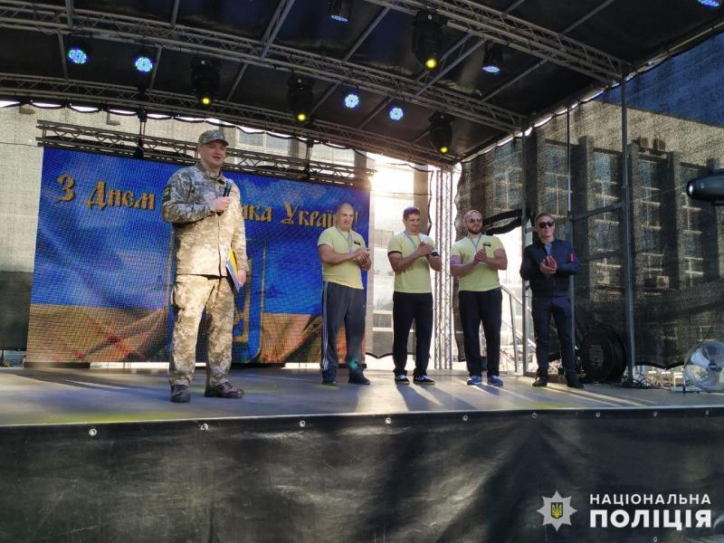Покровські поліцейський зайняли перше місце у змаганнях серед команд силовиків, фото-7