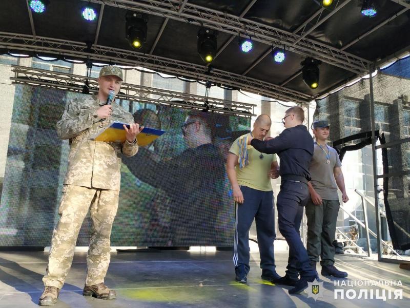 Покровські поліцейський зайняли перше місце у змаганнях серед команд силовиків, фото-6