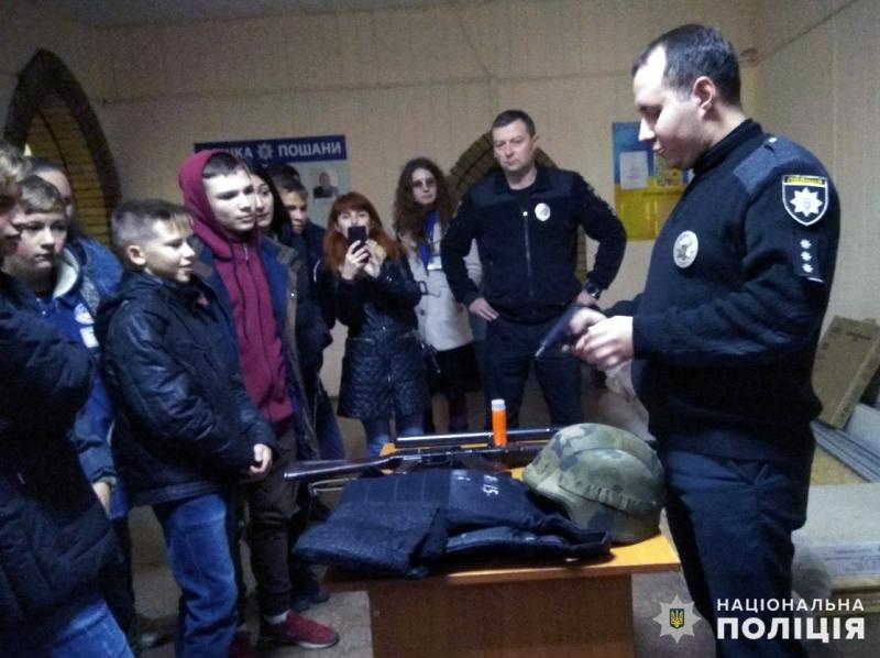 День відкритих дверей пройшов у Мирноградському відділенні поліції, фото-1