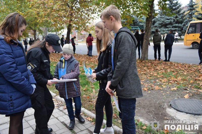 Майбутні поліцейські Покровська приєднались до акції «Ми за безпеку дорожнього руху», фото-6