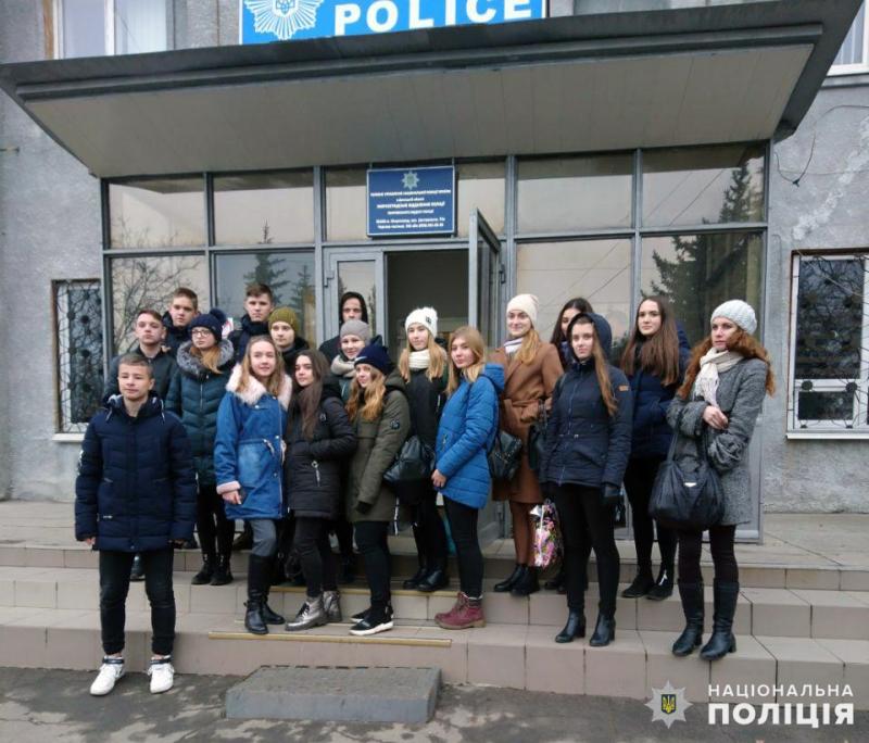 У мирноградській поліції відбувся день відкритих дверей для школярів, фото-1