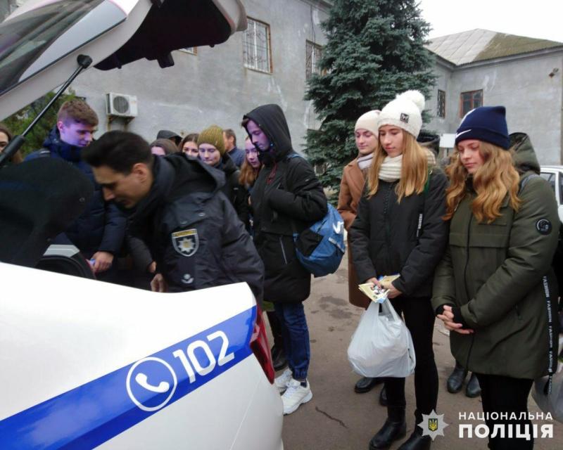 У мирноградській поліції відбувся день відкритих дверей для школярів, фото-3