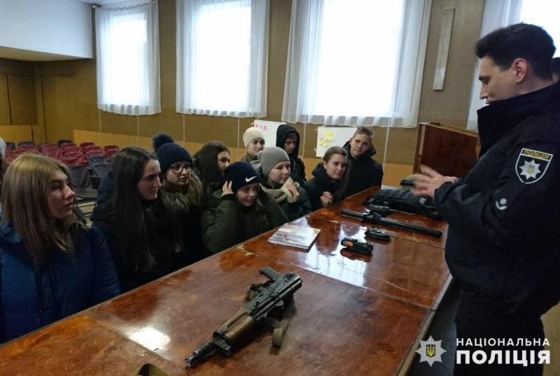 У мирноградській поліції відбувся день відкритих дверей для школярів, фото-5