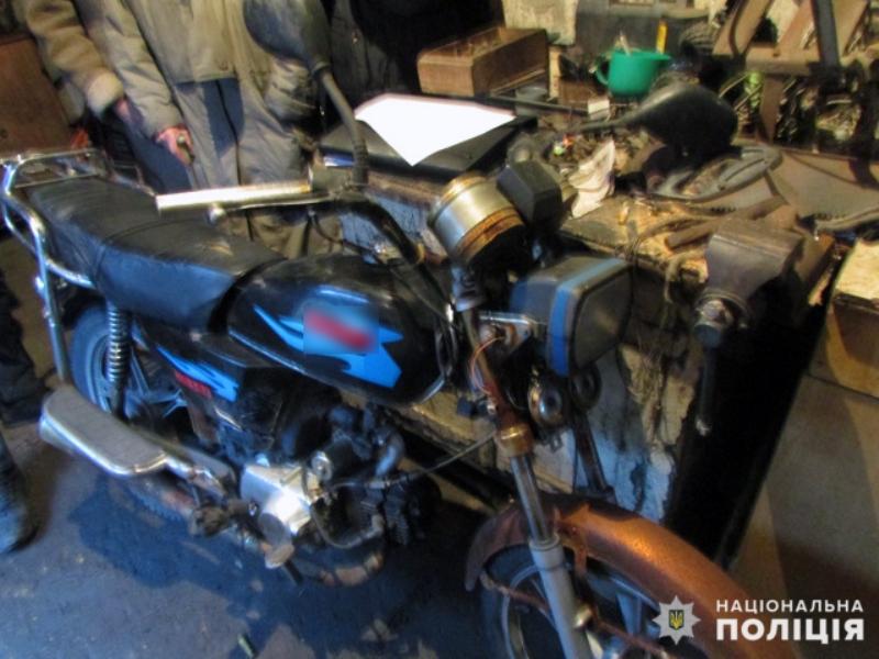 Покровська оперзона: поліцейські розшукали угнаний мопед, фото-5