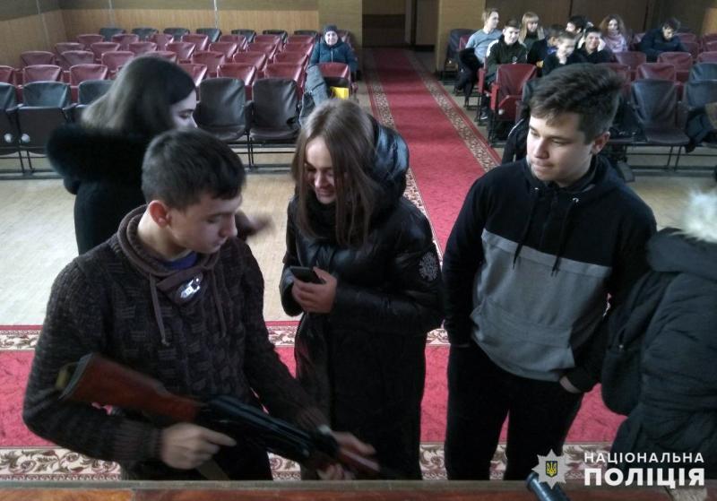 У Мирноградському відділенні поліції пройшов день відкритих дверей для школярів, фото-3