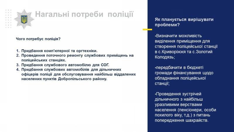 Начальник поліції Добропілля відзвітував перед населенням за 1 квартал 2019 року, фото-25