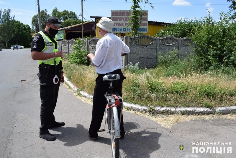 Покровські поліцейські закликали водіїв двоколісного транспорту дотримуватись правил безпечної поведінки на дорозі, фото-4
