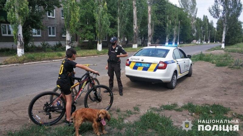 Поліцейські Мирнограду провели профілактичні бесіди з неповнолітніми велосипедистами, фото-1