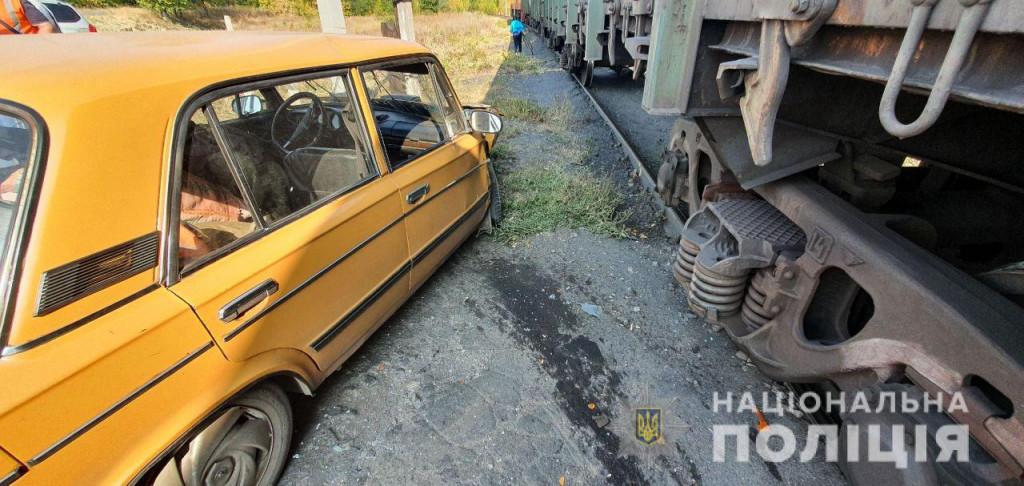 Покровська оперзона: ВАЗ зіткнувся на залізничному переїзді з вантажним потягом, фото-3