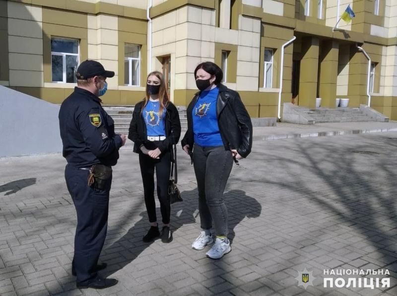 Поліцейські Покровська познайомили лігівців з роботу нарядів поліції, фото-3